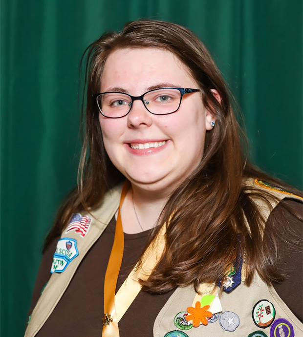 Gold Award Girl Scout Erica Dennis