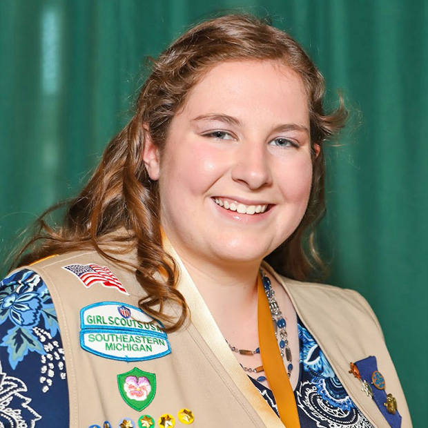 Gold Award Girl Scout Hannah Richard