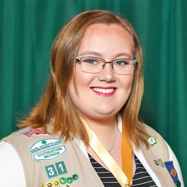 Gold Award Girl Scout Hope Fabian