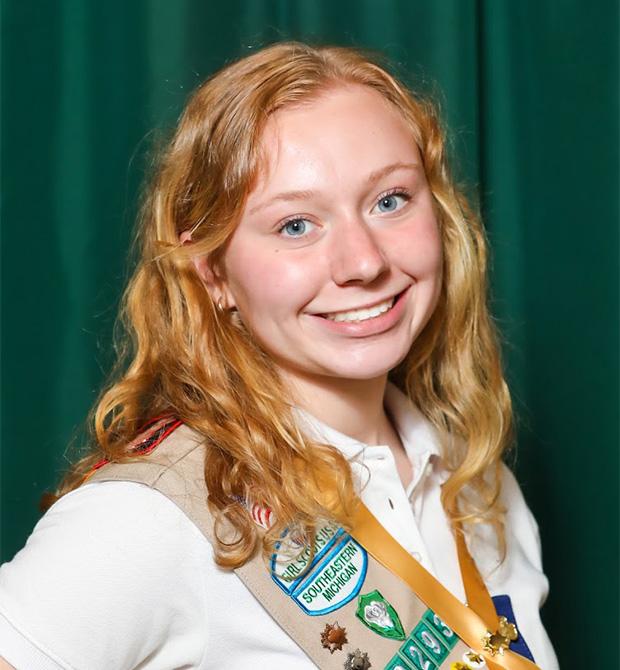 Gold Award Girl Scout Jillian Pompo