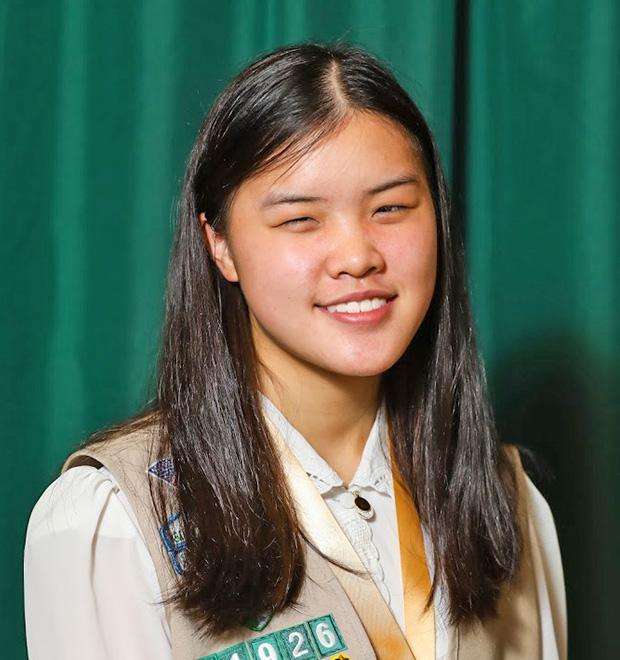 Gold Award Girl Scout Linda Weng