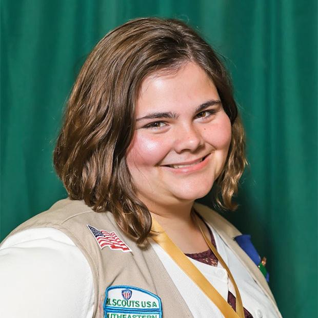 Gold Award Girl Scout Megan Ray