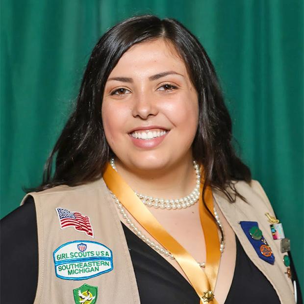 Gold Award Girl Scout Nicole Long