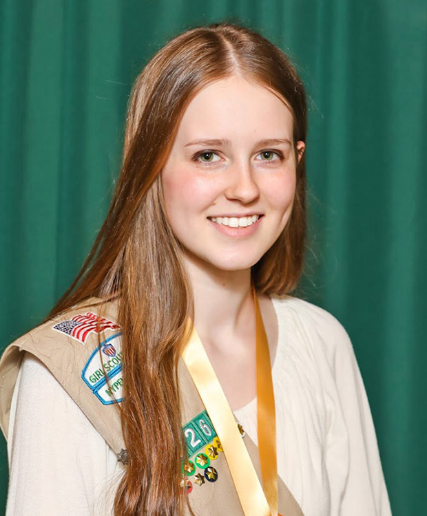 Gold Award Girl Scout Paige Palmer