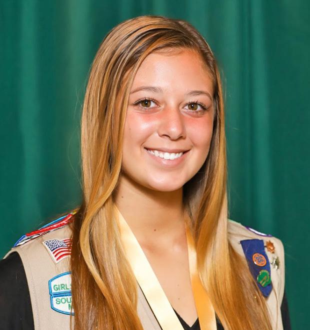 Gold Award Girl Scout Sydney Ziegler