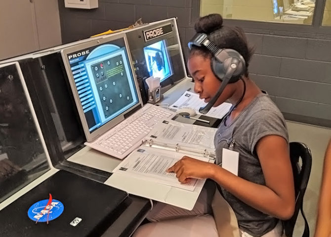 GSSEM Cadettes Worked with Real NASA Astronauts