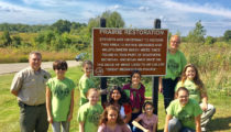 Troop 75949 participated in Stewardship Day at Seven Lakes State Park this Year