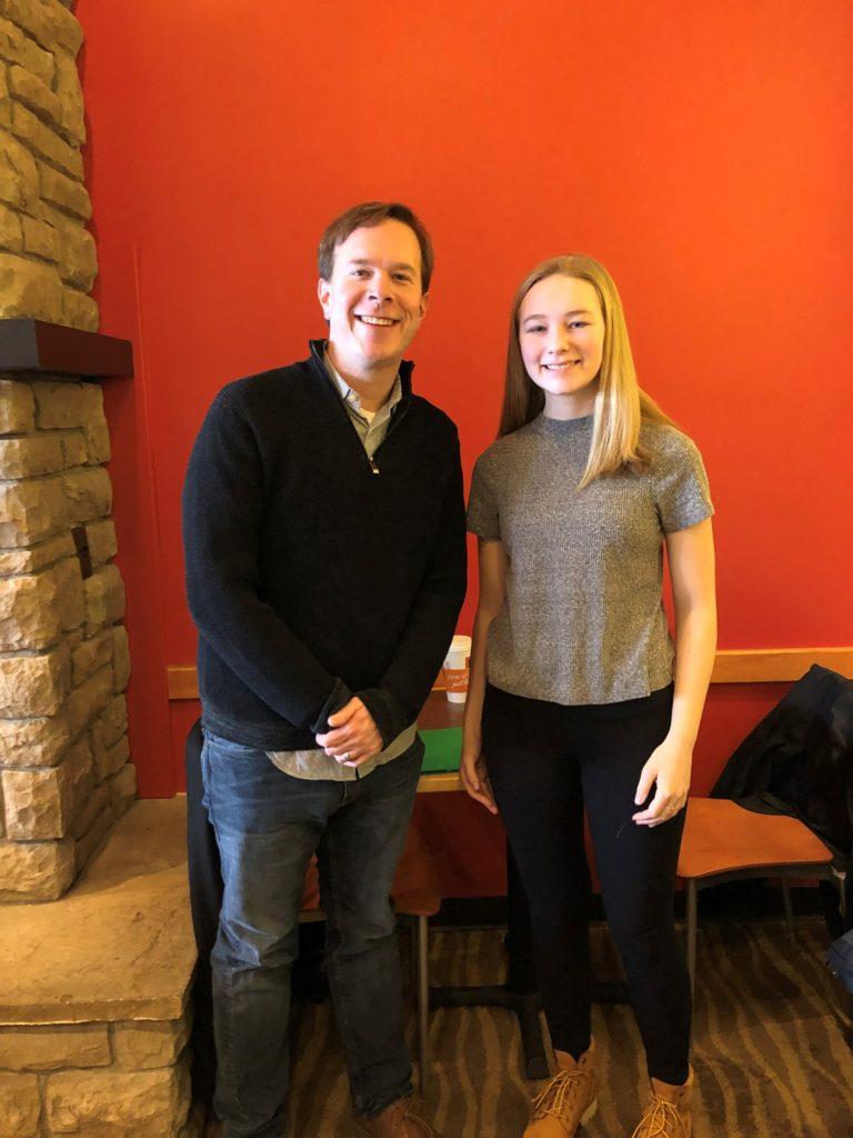 Meeting with Matt Koleszar