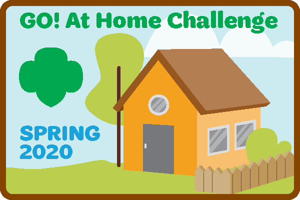 GO! At Home Challenge Patch Program