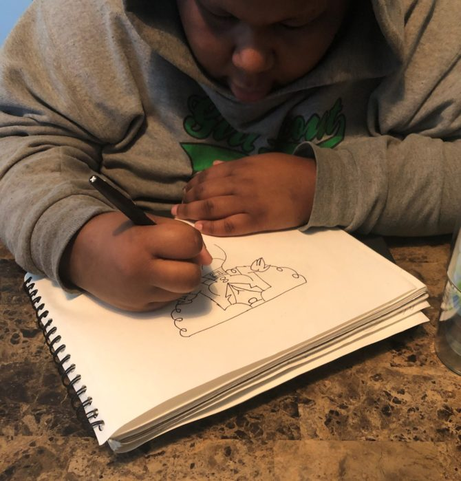 #QuarantineDiaries: Drawing with Lena