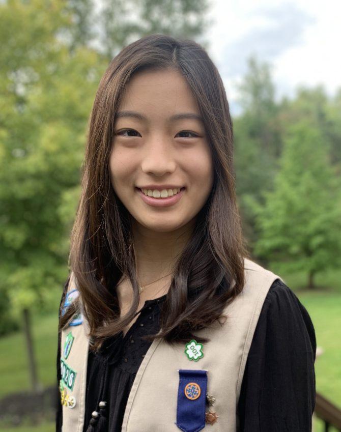 Gold Award Girl Scout Anna Shinohara