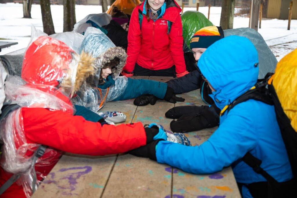 Brave the Cold at the Outdoor Freeze-In