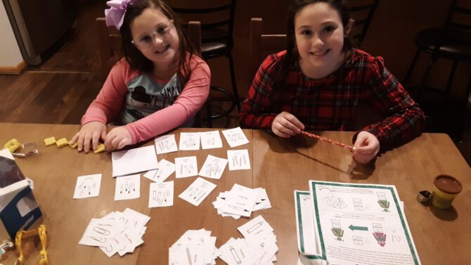 Girl Scouts Share their Badge in a Box Experiences!