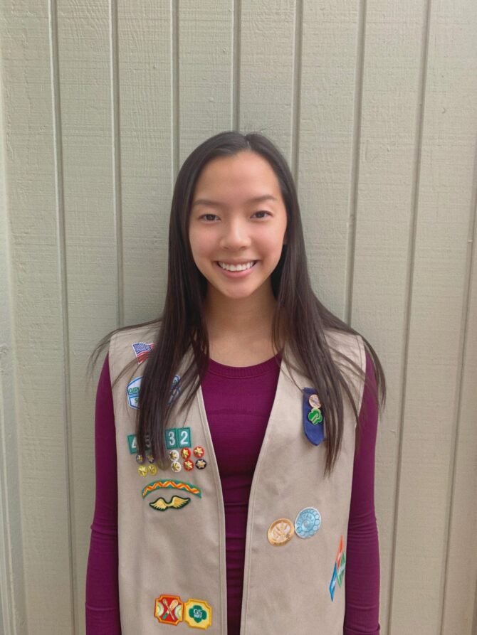 Gold Award Girl Scout Victoria He