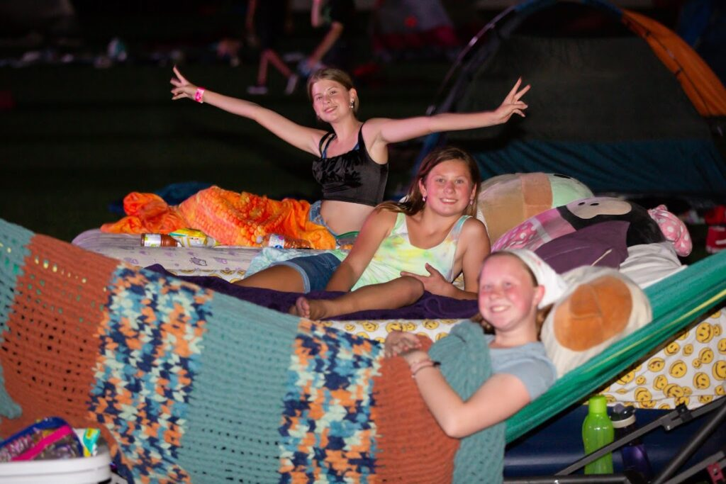 Girl Scouts Camped Under the Stars for an Unforgettable Night